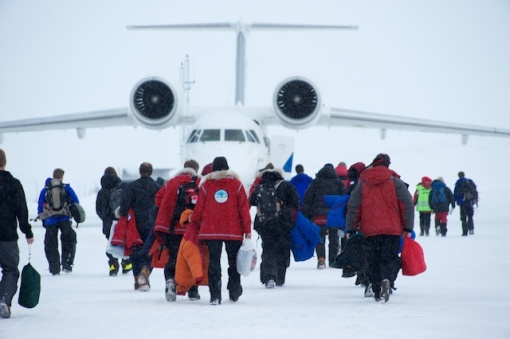 Our ride to the Arctic Ocean